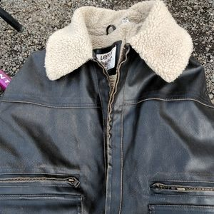 Used XL Levi's leather jacket